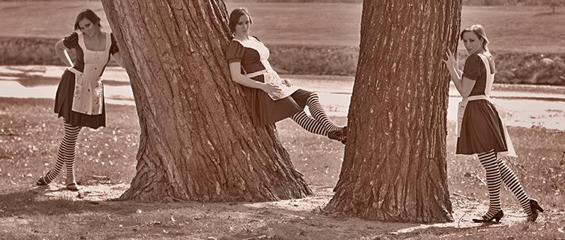 Female model photo shoot of Mikayla Dawn in Herman Hill Park, Wichita