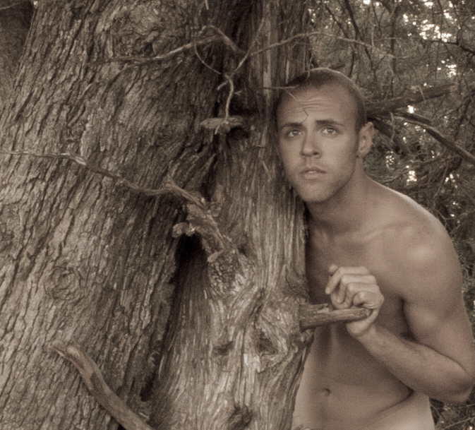 Male model photo shoot of Forest Lee Piper