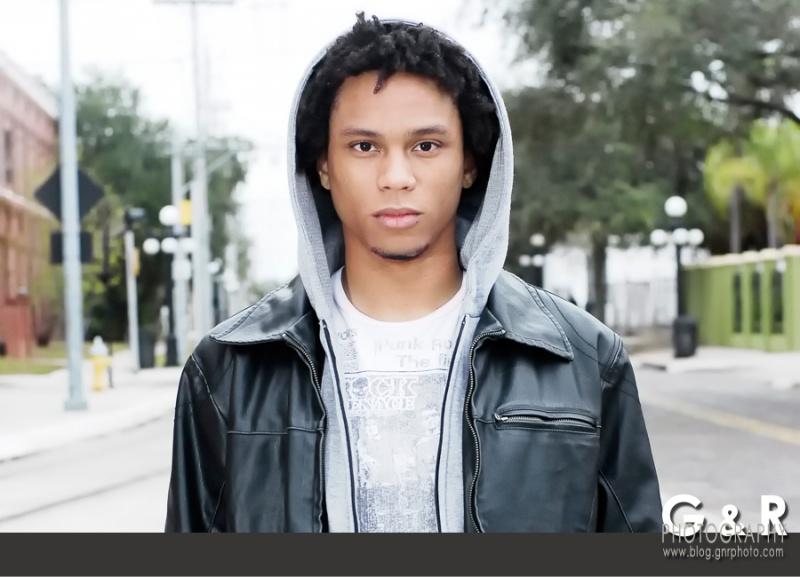 Male model photo shoot of OC Stlawrence