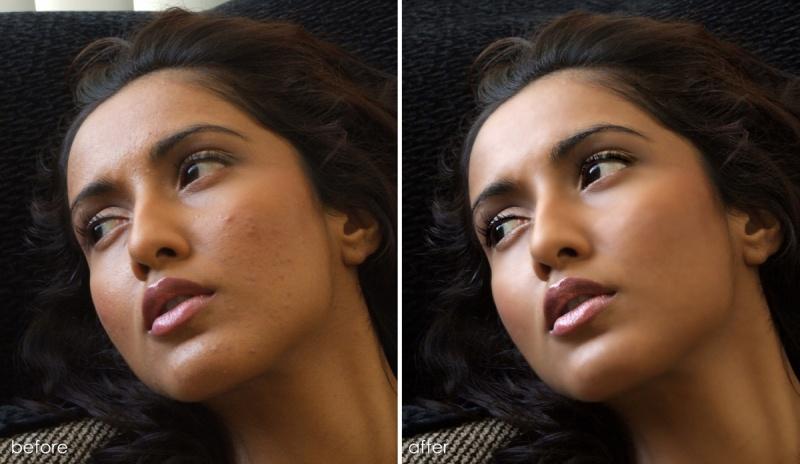 Female model photo shoot of Retouch HUB