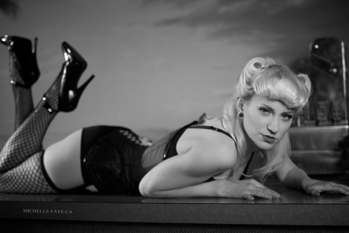 Female model photo shoot of Cherrybonbon by Michelle Faye