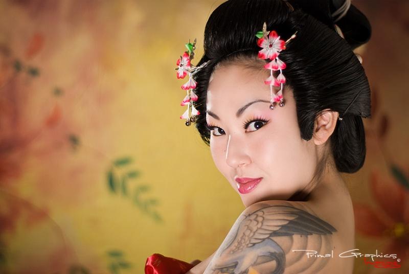 Female model photo shoot of gummibeargeisha