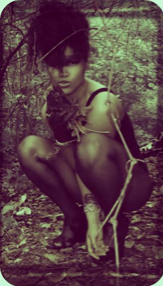 Female model photo shoot of VIDA LARIZA