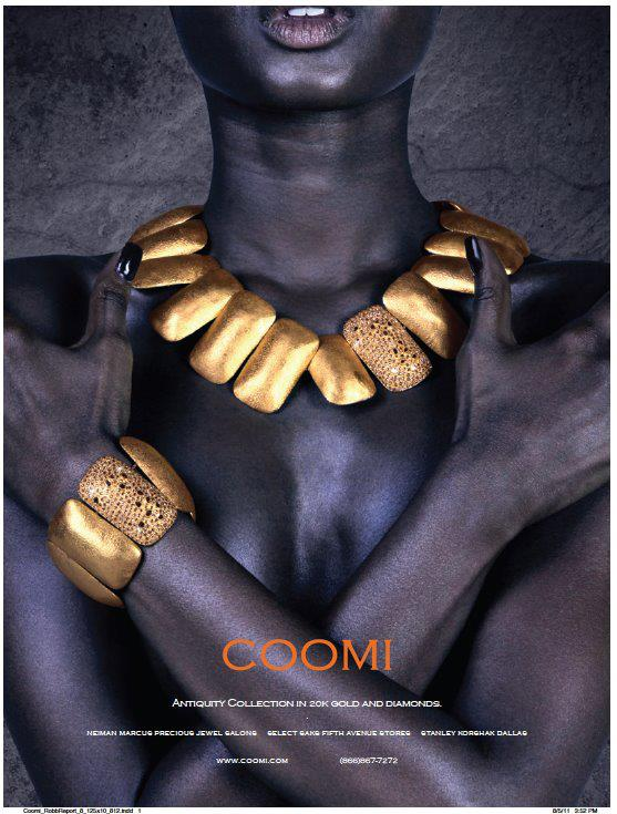 Oct 30, 2011 Coomi Campaign - Town & Country, Departures, Robb Report, Elite Traveler etc...