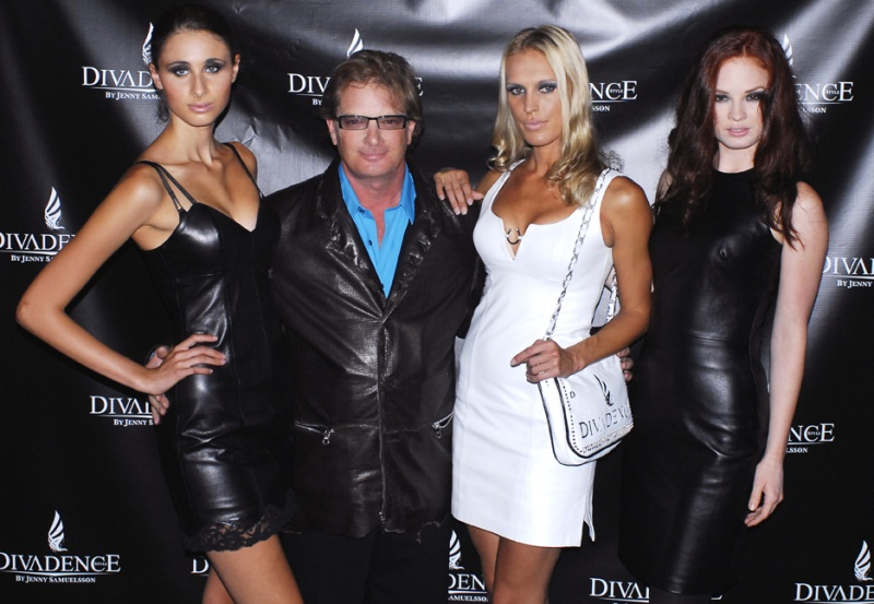 New York City  Oct 30, 2011 West Coast Leather copyright 2011 Photo John Cooper New York City Fashion week red carpet for the Divadence Cosmetic brand launch 9911