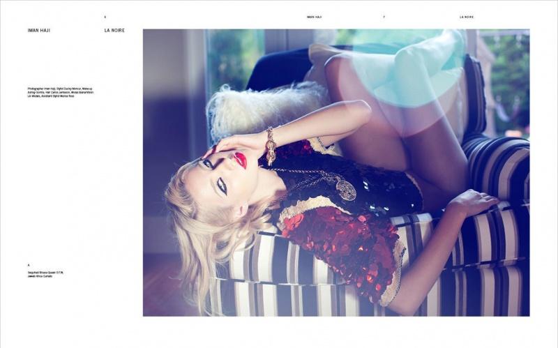 Female model photo shoot of Iman Haji in Hollywood