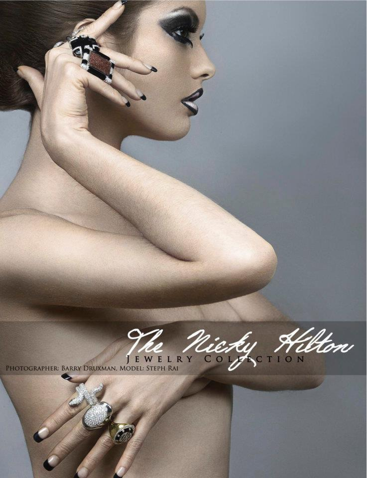 Oct 31, 2011 8/2011. LA, CA. Used in Glam Couture Magazines Sept 2011 issue, for the Nicky Hilton Jewlery Collection