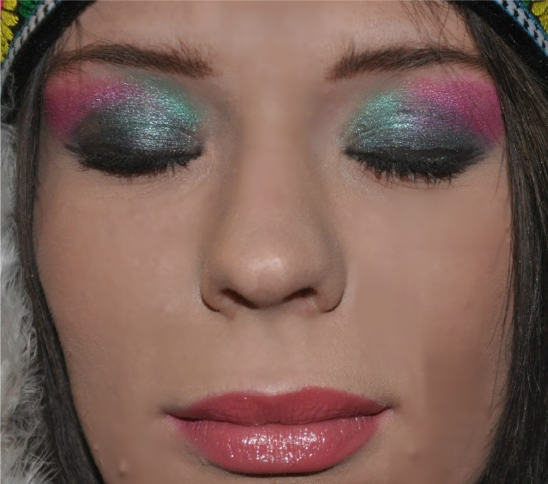 Female model photo shoot of POSH LIVELY MAKEUP in Seattle