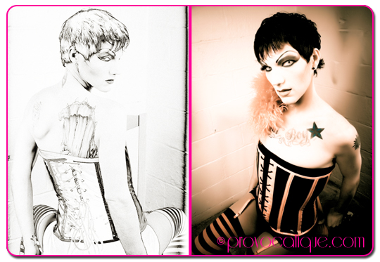 Female and Male model photo shoot of Le Provocateur and Noka Davers in Columbus Ohio