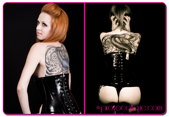 Female model photo shoot of Le Provocateur and _CRASH_ in Columbus Ohio