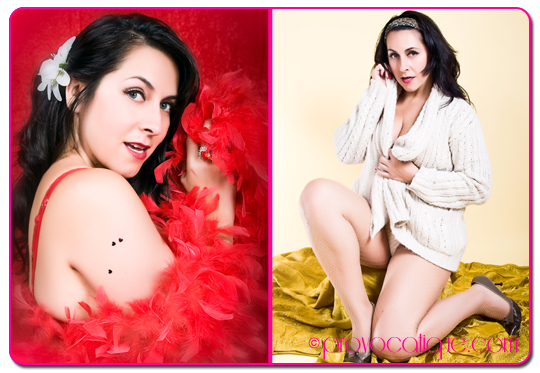 Female model photo shoot of Le Provocateur and Viva Valezz in Columbus Ohio