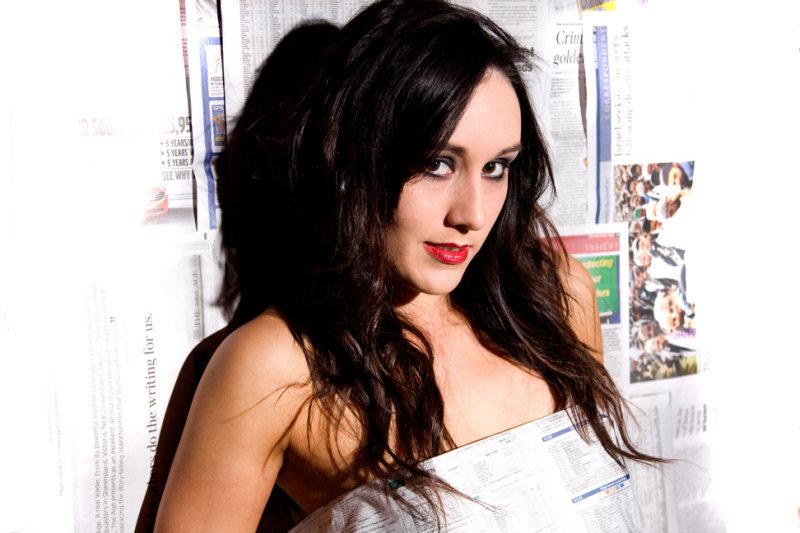 Female model photo shoot of amy89 in Studio