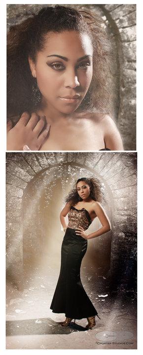 Female model photo shoot of Leslie Ashton by CPorterStudios in Dallas, TX