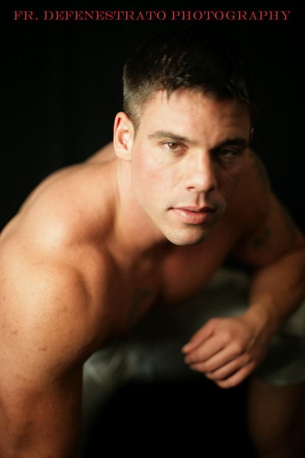 Male model photo shoot of Fr Defenestrato in New York City