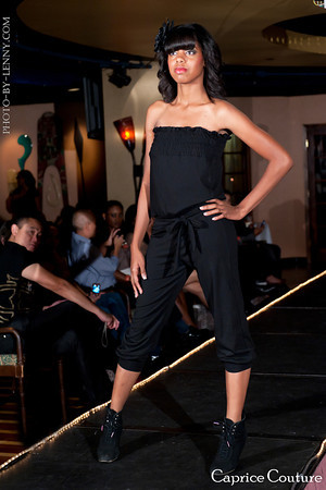 Female model photo shoot of Ms Tyler Bradshaw in Caprice Couture Fashion Show , Hollywood,CA