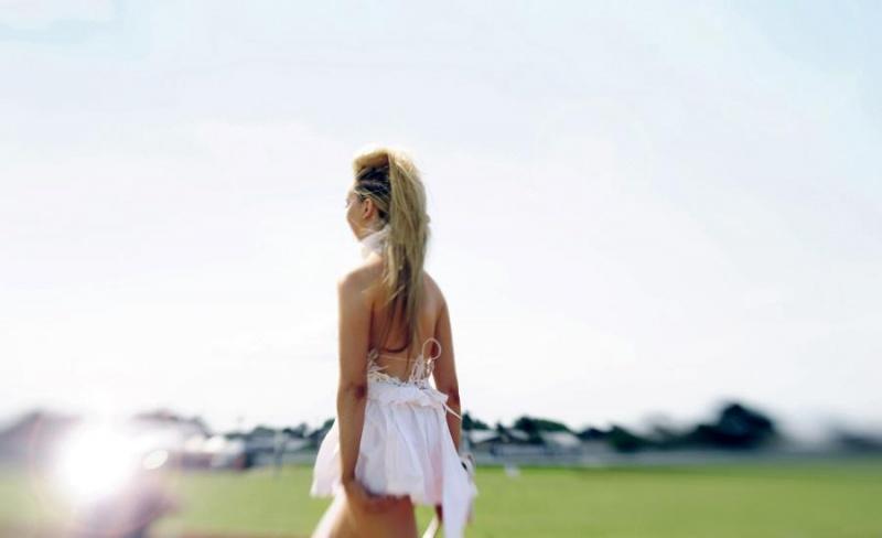 Female model photo shoot of olivia mackenzie in RNA Showgrounds, Polo World Champsionships