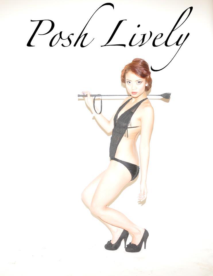 Female model photo shoot of POSH LIVELY MAKEUP