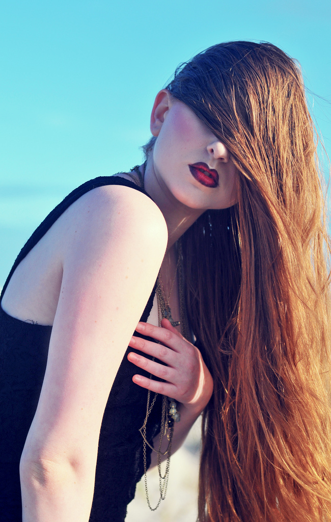 Female model photo shoot of Make-up by Rae and acceber by Julia Mariel, wardrobe styled by Cherie Pickett