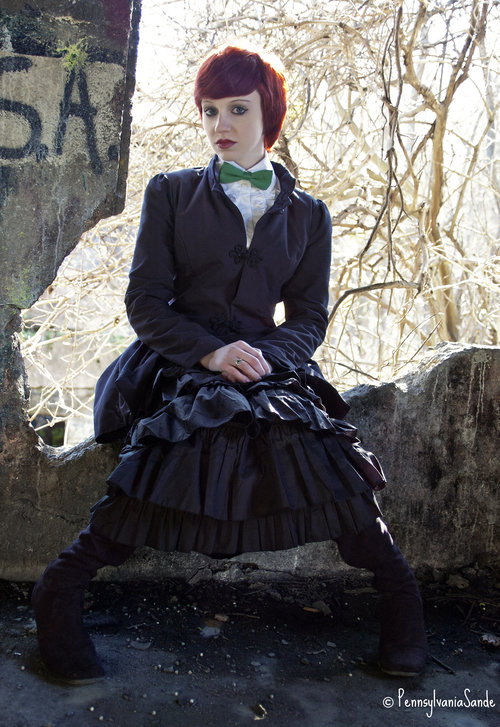 Female model photo shoot of Sarah Cugini by PennsylvaniaSande