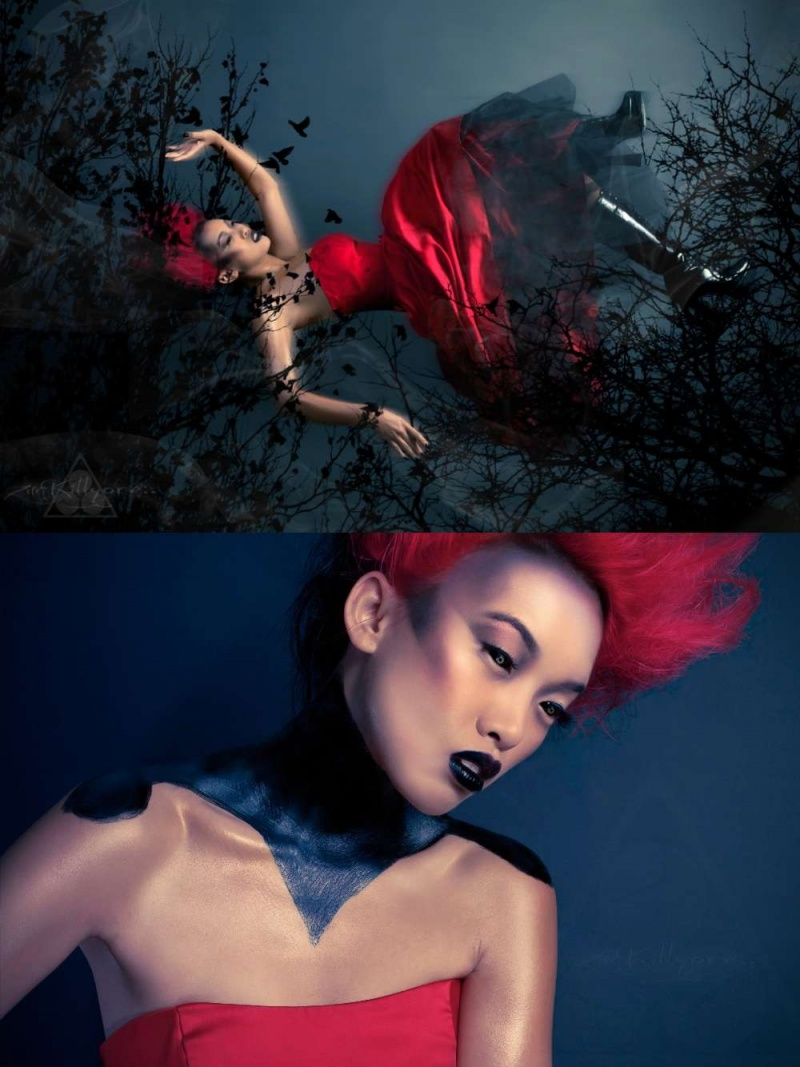 Nov 08, 2011 photo by: Zim Killgore Model: Angel Lin MUA: Me Hair/wardrobe: Laura Buenrostro