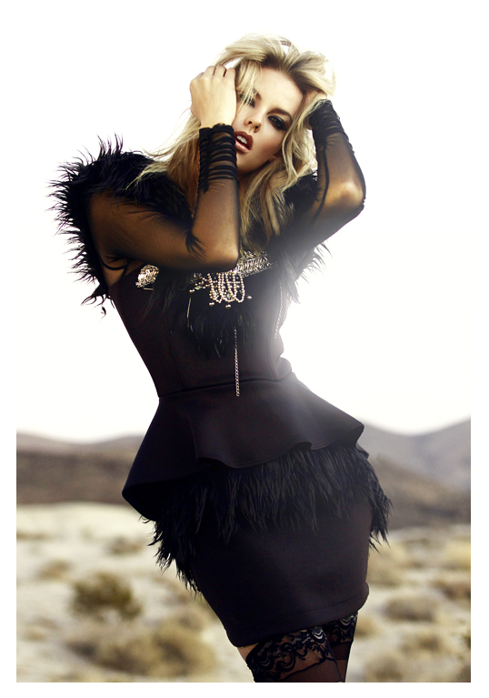 Los Angeles, CA Nov 09, 2011 Jack Waterlot Into The Wild [Editorial] | Model: Jessica @FORD [LA] | Makeup ArtistHairstylist: Adriana Trevizo | Designer: GLAUDI By Johana Hernandez