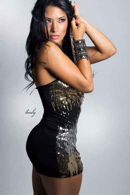 Female model photo shoot of Angel Mariee by DONBG