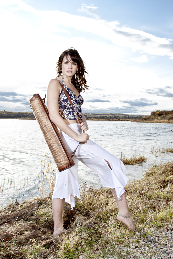 Female model photo shoot of ALECS MILLS in Calgary, Alberta
