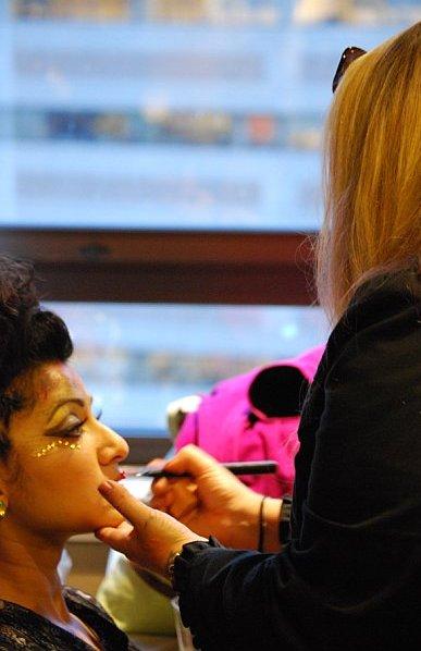 Female model photo shoot of MakeUp by Mau