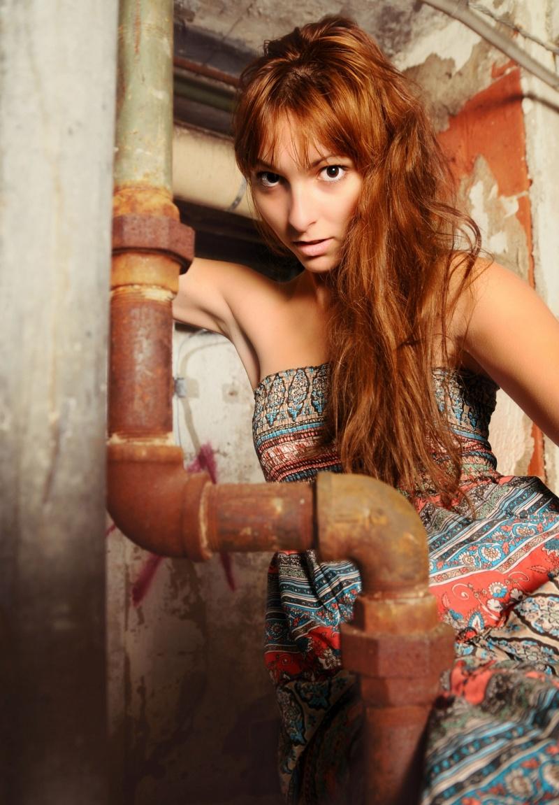 Female model photo shoot of Christiana D by - Joe -
