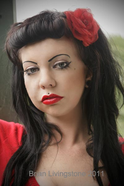 Female model photo shoot of Miss Mwah xox by Pics4u Limited, makeup by Miss Scarras Make Up Fx