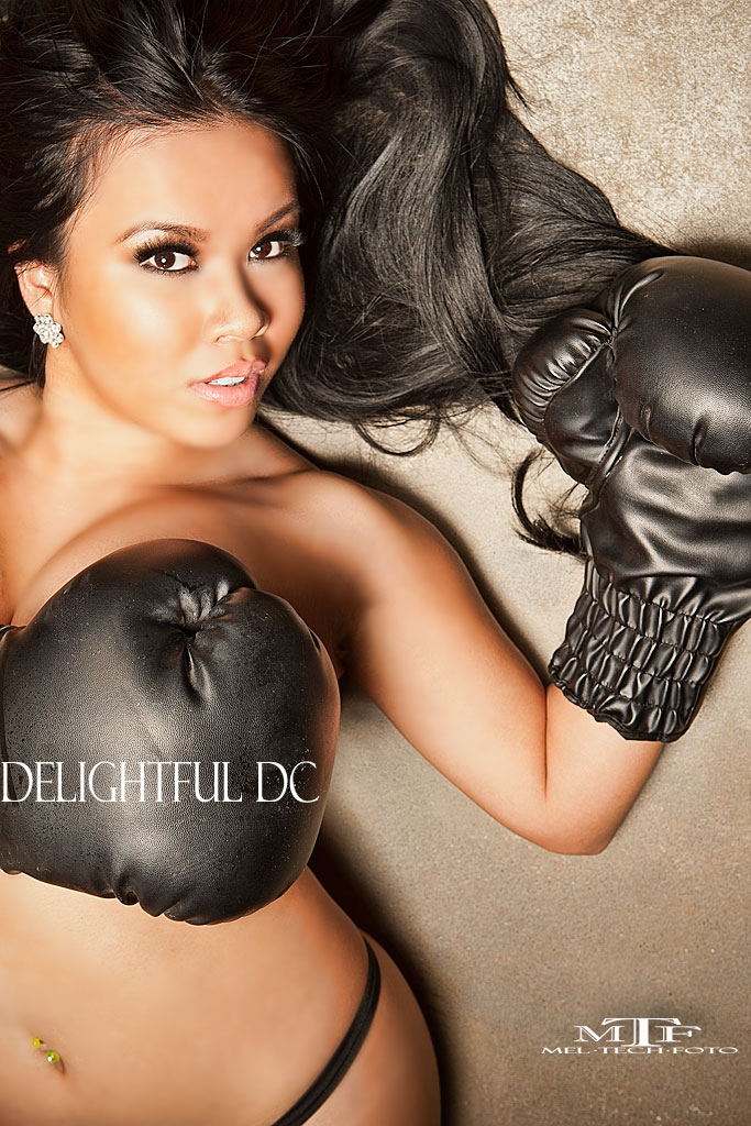 Female model photo shoot of Delightful DC by meltechfoto