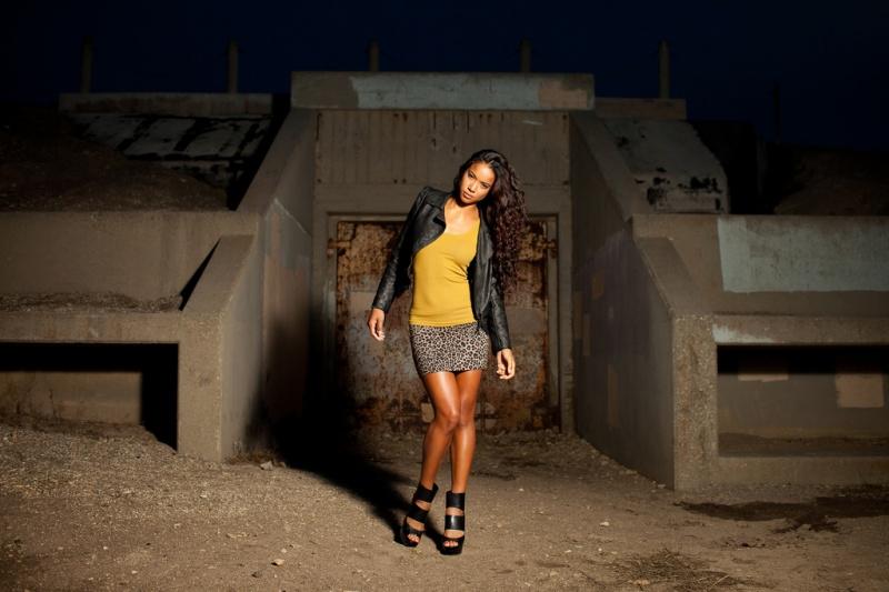 Male and Female model photo shoot of Daniel Arevalo  and Britt Loren in San Pedro, CA