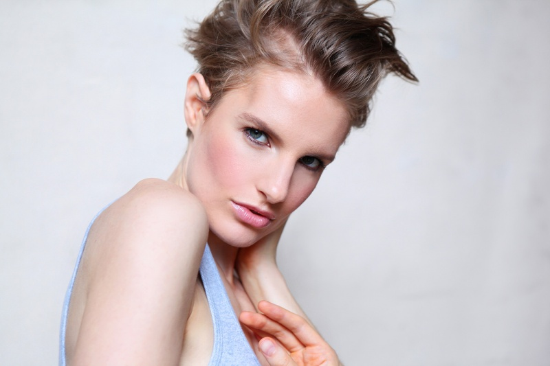 Female model photo shoot of highfashion_sara in nyc