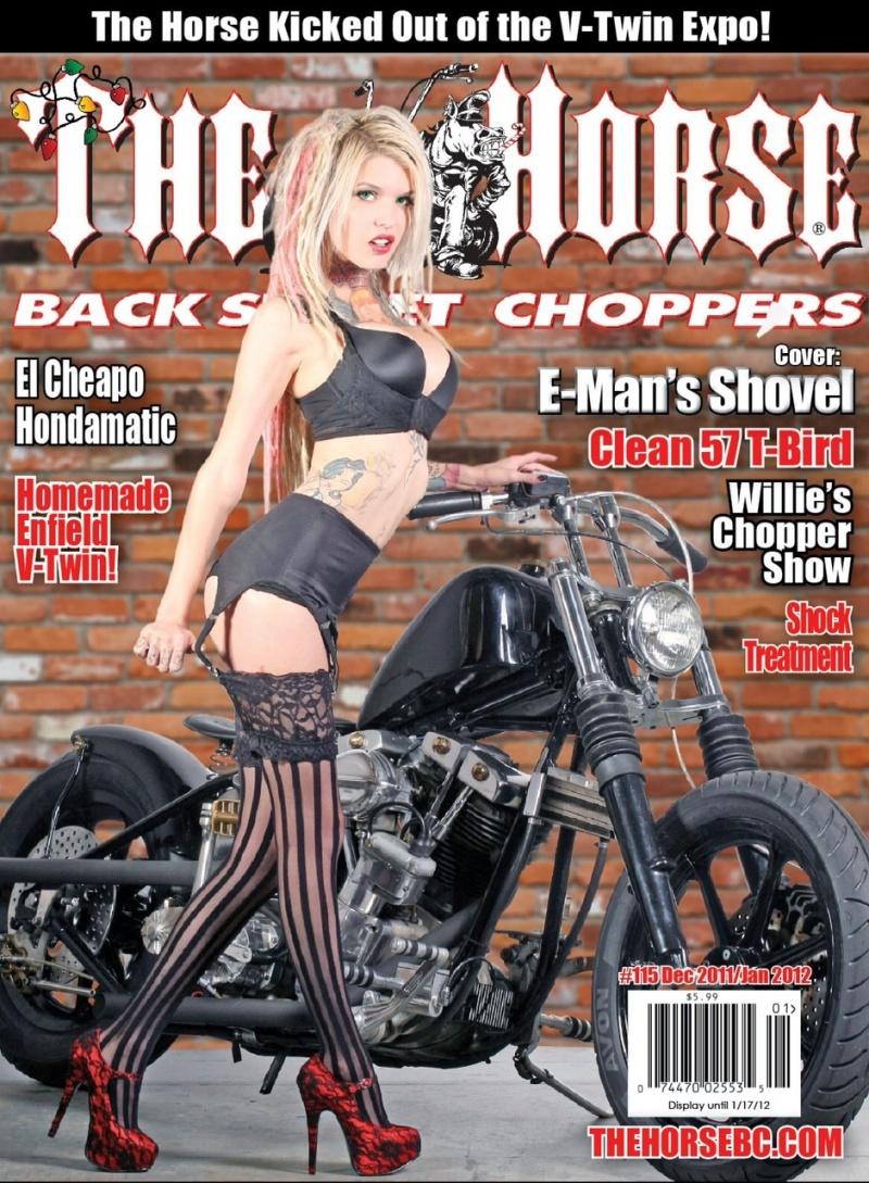 Detroit Nov 18, 2011 The horse cover dec 2011