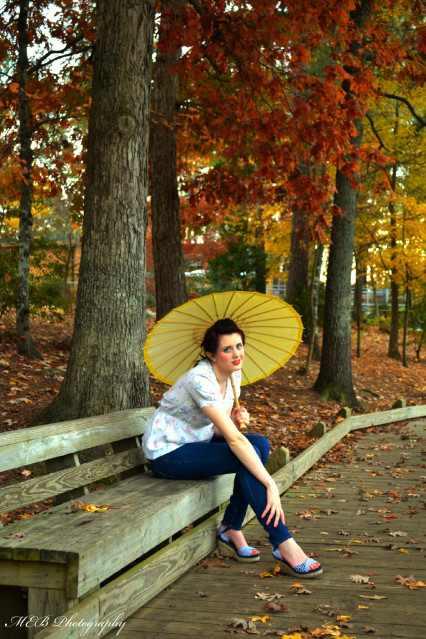 Female model photo shoot of EmmyBee02 and Lauren Kristinee in Fred G. Bond Metro Park