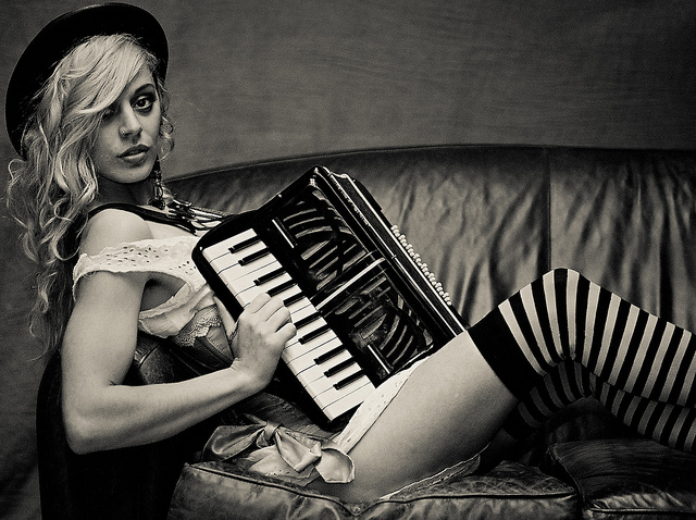 Nov 20, 2011 hair, makeup, wardrobe done by me. accordion is mine