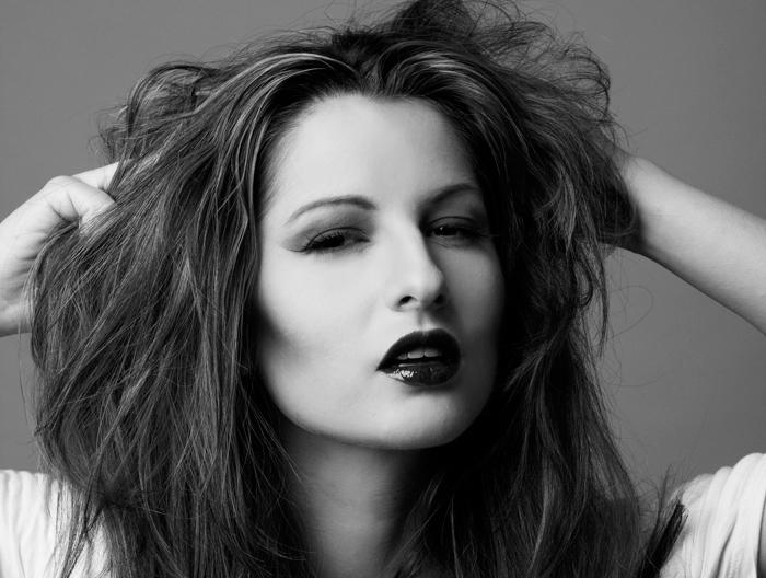 Female model photo shoot of Satsuki MUA by Lauren Ashley T, hair styled by Kyndra Turner
