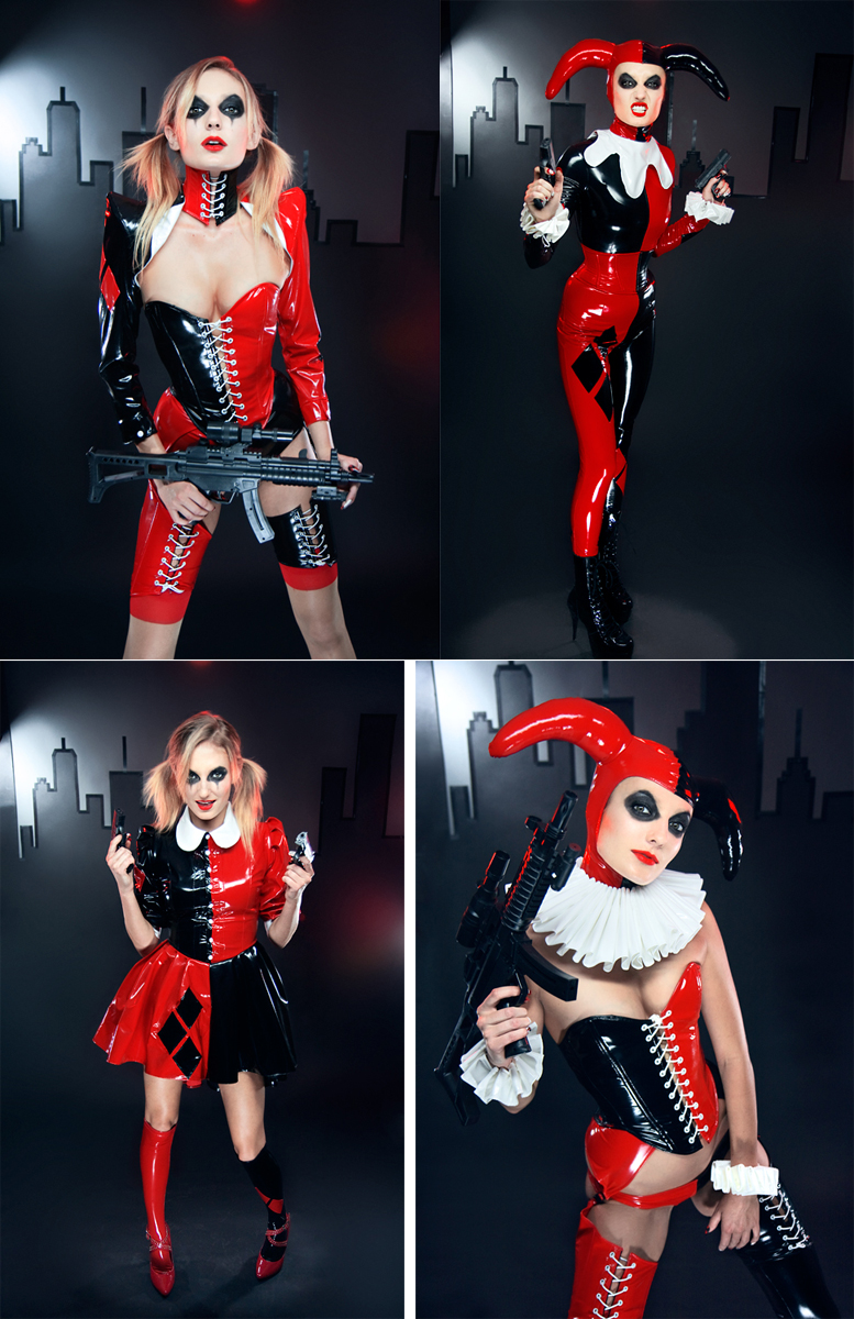 Nov 21, 2011 Harley Quinn, Photography by Aesthetic Alchemy Model is Krystal Lee D Nail art by Mary Mars