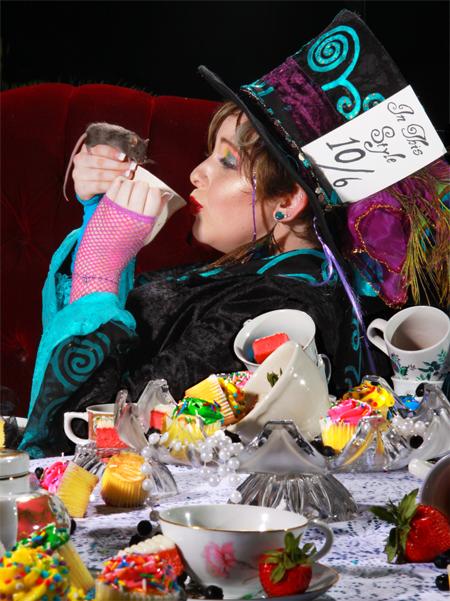 Female model photo shoot of The Drugs LIke Me in Wonderland