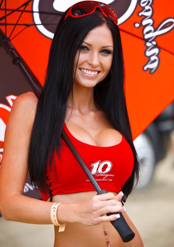 Female model photo shoot of McKensie Lowstetter in Pala Raceway