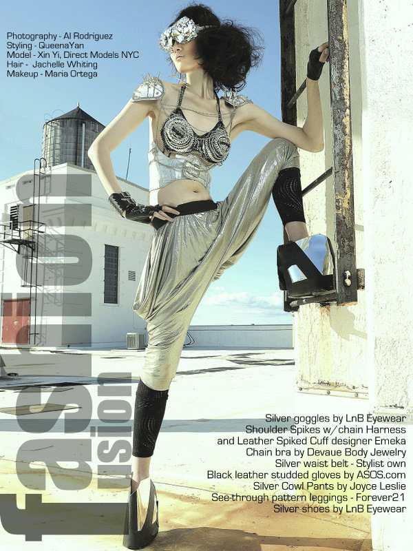 Brooklyn, NY Nov 22, 2011 Al Rodriguez Fashion Fusion Issue 1