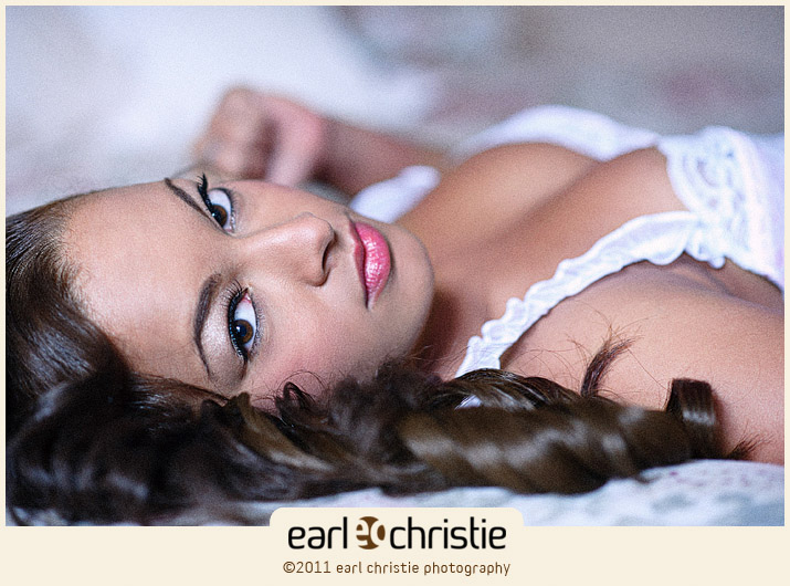 Female model photo shoot of Jennifer Dutil by Earl Christie