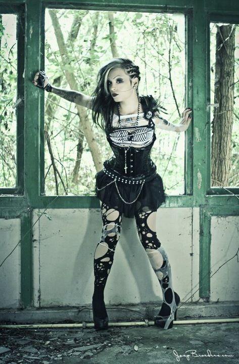 Female model photo shoot of Dana Dead Girl in The Netherlands