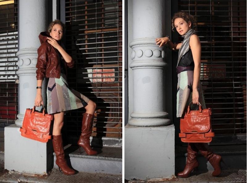Female model photo shoot of Bella Styling Co in SoHo, NYC