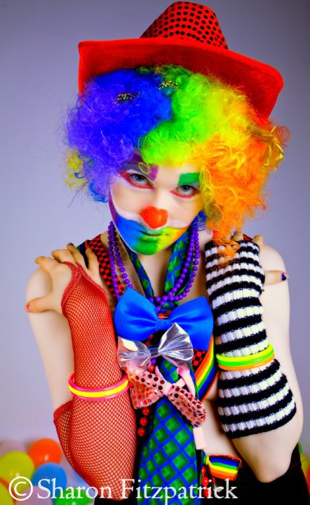 Nov 23, 2011 Sharon Fitzpatrick Photography Happy clown!