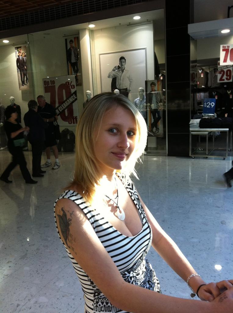 Female model photo shoot of Jordy Mancini in Erina Fair