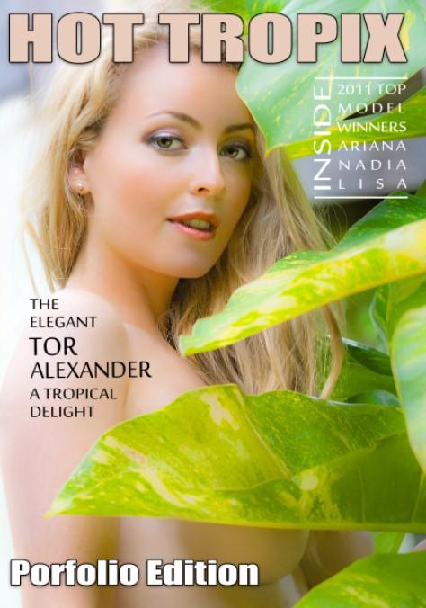 Grenada Nov 27, 2011 Printworx Hot Tropix Portfolio Magaziine Front Cover, Nov 2011