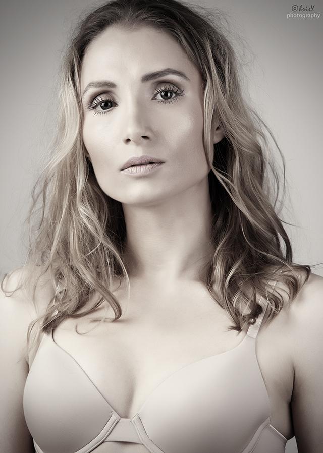 Female model photo shoot of Ailsa Naumann by Chris_Y in Milton Keynes, makeup by Belleza Secrets