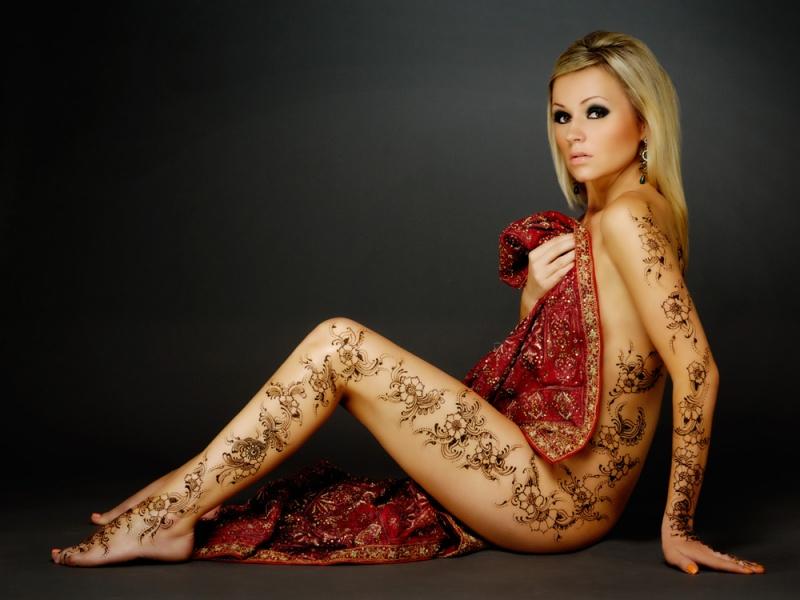 toronto Nov 28, 2011 henna design by asha @ hennarung Full henna body art