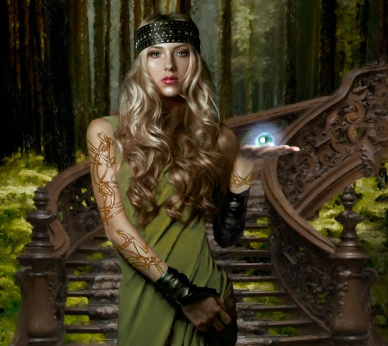Nov 30, 2011 Elven Priestess - Fantasy Gaming Image